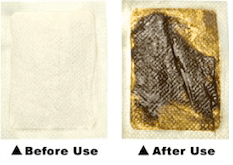 detox foot pads before and after