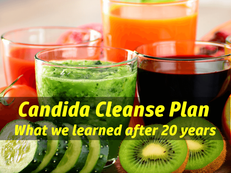Candida Cleanse: What we learned in 20 years of yeast cleansing