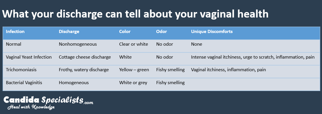 What Does Vaginal Discharge Smell Like